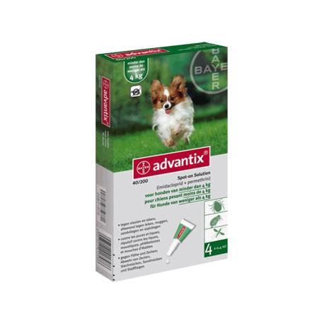 ADVANTIX 4X0.4(HASTA 4KGS.)4PIP