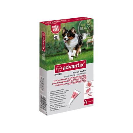 ADVANTIX 4X2.5(10-25KGS)4 PIP.
