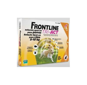 FRONTLINE TRI-ACT 5-10 KG 3PIP.