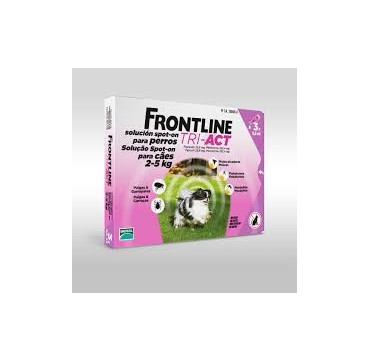 FRONTLINE TRI-ACT 2-5 KG 3PIP.