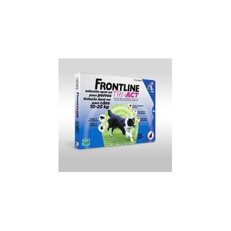 FRONTLINE TRI-ACT 10-20 KG 3 PIPETAS