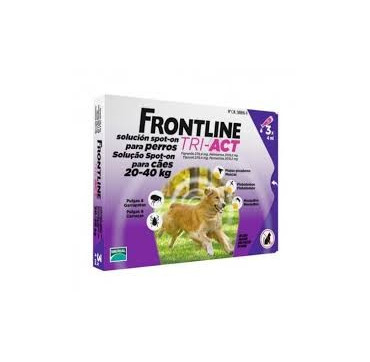 FRONTLINE TRI-ACT 20-40 KG 3PIP.