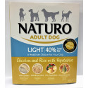NATURO ADULT LIGHT CHIC&RICE 400GRS.