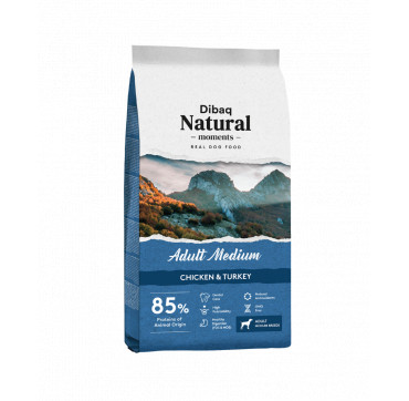 DNATURAL ADULT MEDIUM rico en pollo con arroz